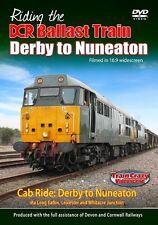 Riding the DCR Ballast Train Derby to Nuneaton *DVD (Cab Ride)