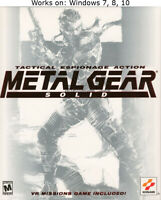 Metal Gear Solid PC Windows 7 8 10 More Games in Store