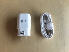 OEM LG EAD63687001 Type-C to Type C USB Charger Cable and Brick