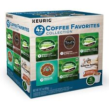 KEURIG Variety Pack Collection Coffee Favorites K Cups 42 Count