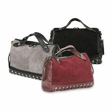 Damen Handtasche Damentasche Schultertasche Umhängetasche Crossover Kombination