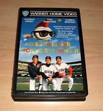 VHS - Die Indiander von Cleveland 2 II - Charlie Sheen Videofilm - Videokassette