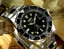 Invicta 3044 Grand Pro Diver Self-Wind Automatic Black Dial Men's 300M SS Watch