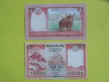 Billet de 5 rupees du Népal