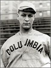 Photo: Lou Gehrig, 18 Years Old At Columbia University, 1921
