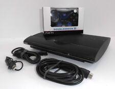 Ps3 Sony Playstation 3 Super Slim Console 500 Go + 1 Contrôleur & 3 Ü-jeux