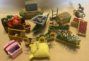 Breyer & Schelich Farm, Horse & Garden Play Set Accessories