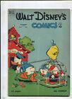 WALT DISNEY'S COMICS AND STORIES #121 (3.5) OFF TO SCHOOL! 1950