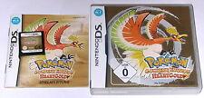"Nintendo DS juego ""pokemon Heart Oro HeartGold"" completo alemán OVP"