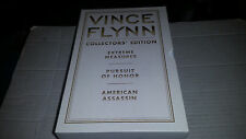 Vince Flynn Collector's Edition Volume 4 SIGNED HC 1st/1st 3 Books 2011 White