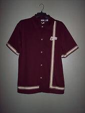 Vintage Style Puma Snap Front Jersey Size L