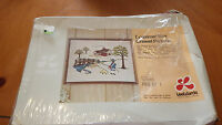 Vintage Crewel Embroidery Kit Drummer Boy by Lee Wards Crafts 14x18 NIP 1975