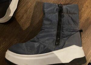 juicy couture Black Label Navy Boots Uk 4