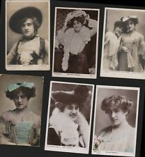 Sybil Arundale. Edwardian Actress Postcards Lot   RO.21