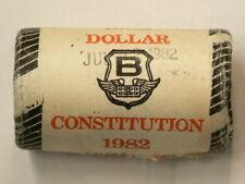 1982 Canada $1 Dollar Original Mint Roll 20 Unc Coins Constitution #1912