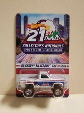 Hot Wheels 21st Nationals Convention Atlanta GA #2/3 '83 Silverado 4x4 3003/5500