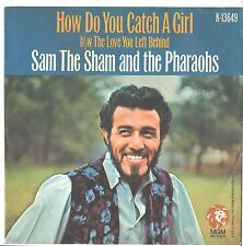 SAM THE SHAM/PHAROHS--PICTURE SLEEVE ONLY---(HOW DO U CATCH A GIRL)--PS--PIC--SL