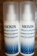 2 BOTTLES NIOXIN THERM ACTIV PROTECTOR WITH LIGHTPLEX - 5.07OZ BOTTLES