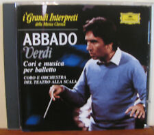 ABBADO Verdi cori .... -CD-Grandi Interpreti-DEUTSCHE GRAMMOPHON-De Agostini