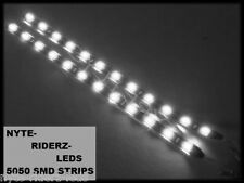 "WHITE 12"" 5050 SMD LED 2 STRIPS ALL MITSUBISHI MAKES & MODELS TOTAL OF 24 LEDS"