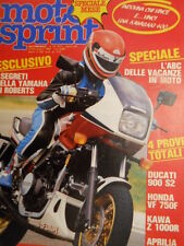 Motosprint 25 1983 Test Ducati 900 S2 - Speciale Yamaha OW 70 [SC.31]