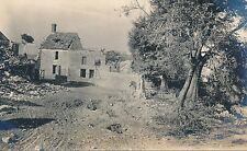 Guerre WW1 14-18 - Carte Photo Fère-en-Tardenois Village en Ruine  Aisne - GV333