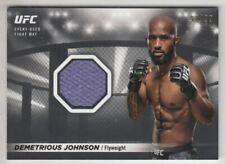 2018 Topps UFC Knockout Fight Mat Relics #FMRDJ Demetrious Johnson /99