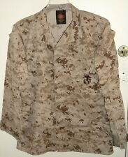 USMC US Marine Corps Desert MARPAT Digital Camo MCCUU Jacket Small Long S/L