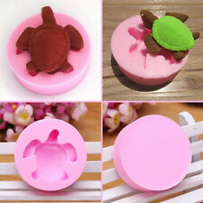 1Pc 3D Silicone Sea Turtle Fondant Mold Cake Soap Chocolate Candy Baking Tools
