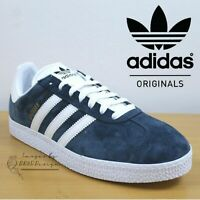 Adidas Originals GAZELLE II Men's Trainers Navy Suede Shoes ✅ 24Hr DELIVERY ✅