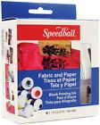 Speedball 3479 Fabric and Paper Block Printing Ink Set - 6 colors
