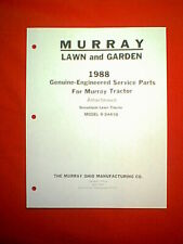 MURRAY TRACTOR / RIDING MOWER SNOW PLOW ATTACHMENT MODEL 8-24410 PARTS MANUAL
