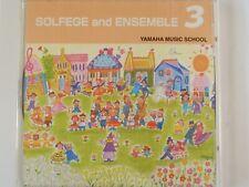 Yamaha Music School - Solfege & Ensemble 3 - Japan CD