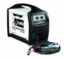 Telwin MAXIMA 190 Refillable reg 170amp gas/gasless synergic MIG/MAG welding