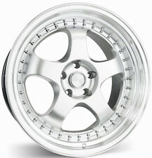 "17"" ESR SR06 Silver Wheels For Lexus Mitsubishi Eclipse 5x114.3 17X8.5 +30 Rims"