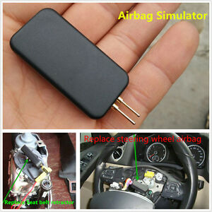Autos SRS Airbag Air Bag Simulator Bypass GARAGE FAULT DIAGNOSTIC EMULATOR Tool