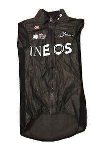 Team Ineos Castelli Idro 2 Rain Cycling Gilet Vest