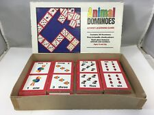 Animal Dominoes First Learning Game Big Pieces Ages 3 and Up