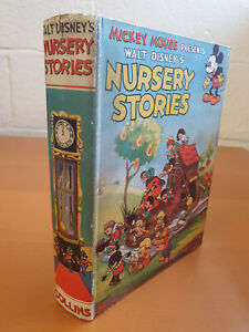 MICKEY MOUSE PRESENTS WALT DISNEY'S NURSERY STORIES From Silly Symphonies 1935
