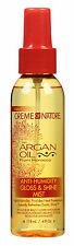 Cream Of Nature With Argan Oil From Morocco Anti-Humidity Gloss & Shine Mist 4Oz