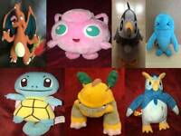 Pokemon Nintendo Soft Toys Talking Jakks Pacific 2007 & Others
