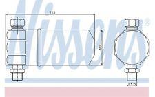 NISSENS Filtro deshidratante, aire acondicionado VOLKSWAGEN PASSAT AUDI A4 95115