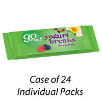 GO AHEAD! YOGURT BREAKS FOREST FRUIT x 24 INDIVIDUAL PACKETS BISCUITS 124592