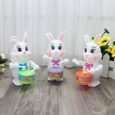 Rabbit Drumming Toys Wind-Up Clockwork Educational Toy For Kids Baby Gift