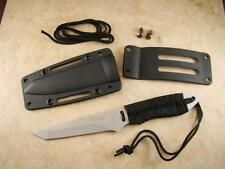 VTech Tanto Neck Boot Knife w/ Lanyard Sheath System Belt-Backpak-Security