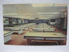 Vintage Syracuse Ny Cue Stick Billiard Parlor Pool Hall Post Card