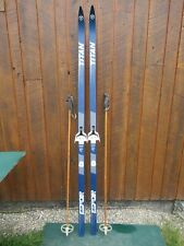 """Cross Country Skis 77"""" Long TITAN 200 cm Skis And Has Poles"""
