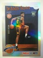 Deandre Hunter RC Silver Foil 2019-20 NBA Hoops Tribute Atlanta Hawks