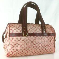 Auth LOUIS VUITTON JOSEPHINE GM Hand Bag Monogram Mini M92311 Cerise Cherry