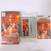 CONTRA SPIRITS Nintendo Super Famicom SFC SNES Japan game